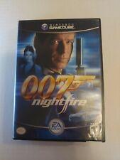 007: NightFire (Nintendo GameCube, 2002) Complete w/ Manual CIB
