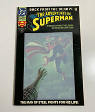 1993 DC Comics #500 The Adventures Of Superman Back From The Dead?! EUC E6