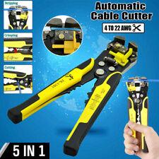 Self-Adjusting Automatic Wire Striper Cutter Crimper Pliers Terminal Hand Tool