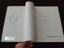 SIGNED 1973 Murder & The Computer ABC TV Movie Script Gary Merrill HC Bound FOY