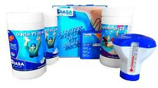 Pool Starter Set / Pool Starter Kit 5in1 / Pool Wasserpflege Set mit 5 Artikeln