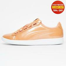 Puma Vikky Ribbon Classic Casual Women's Ladies Girls Trainers Coral
