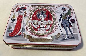 Gillian Martin Designs Small Vintage Style Christmas Tin