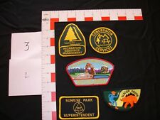 Hunting, fishing,  outdoor sports, vintage  patch collection