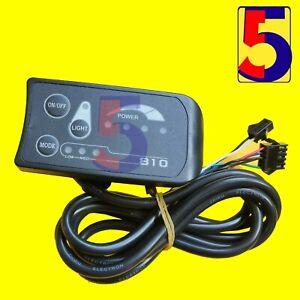 24V36V/48V LED810 Meter Control Panel Ebike Display With 4 / 6Wires light output