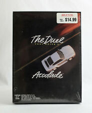 """SEALED Accolade Test Drive 2 II The Duel - 1989 MS-DOS 3.5"""" Big Box PC RARE NEW"""