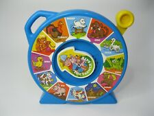 "1989 Mattel See N' Say Farm Animal Sounds The Farmer Says 11"" Vintage"