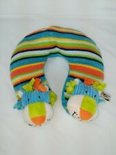 Maison Chic Lion Multi-color Baby Cuddly Neck Support Travel Pillow