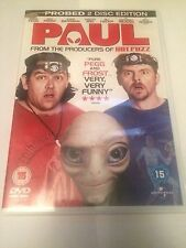 Paul (DVD, 2011) probed 2 disc edition, region 2 uk dvd
