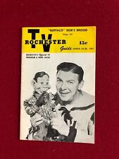 "1951, Howdy Doody, ""ROCHESTER TV Guide"" (RARE) (No Label)"