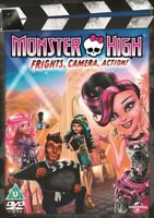 Nuovo Monster High - Frights, Fotocamera, Action DVD