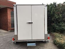 .10 x 6 Foot - Mobile Trailer - Portable Cool Room with Double Barn Doors
