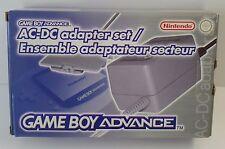 Nintendo Game Boy Advance AC-DC Adaptateur Set Bloc D'alimentation Original-Neuf New