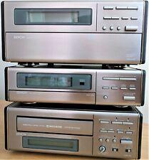 Denon Compact System - UDCM 200, UTU-200, UDR-200 - Tested ok - Read Info