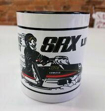 Reproduction Vintage Yamaha Srx Life Snowmobile Logo Coffee Mug