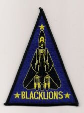 USN VF-213 BLACKLIONS F-14 triangle aircraft patch F-14 TOMCAT FIGHTER SQN