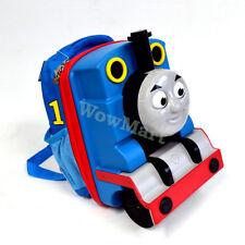 New Kid Toddler Cool Gift Train Siren Thomas Travel Bag Backpack Lunch Bag 14''