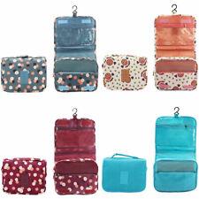 Organizer+gancio borsa pochette borsetta viaggio trucchi makeup porta cosmetici