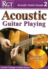 RGT ACOUSTIC GUITAR PLAYING Grade 2 Book/CD LCM*