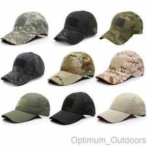 Tactical Operators Baseball Cap Operator Hat Army Airsoft Military Cadet UK