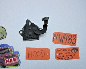 HOOD LATCH LOCK CATCH BODY PANEL FRONT VAN fits 00 01 2000 2001 MAZDA MPV