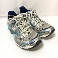 Mizuno Wave Creation 11 Womens 9 Blue Silver Lace Up Athletic Running Shoes
