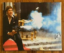 Al Pacino Signed 14x17 SCARFACE Canvas Photo AUTO BAS WITNESSED Sticker ONLY