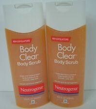 Neutrogena Body Clear Body Scrub 8.5 fl oz Exfoliating Lot of 2 New