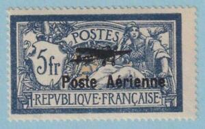 FRANCE C2 AIRMAIL WITH APS CERT !  MINT  HINGED OG ** NO FAULTS VERY FINE !
