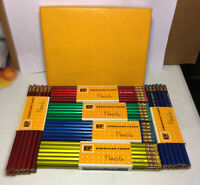 A2 Vintage EF Eberhard Faber Pencils 6 Dozen Degree 2 Life Insurance Company GA.