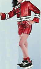 Group Adult Small Metallic Red Hip Hop Dance Costume