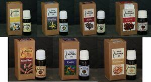 100% Natural Aroma Oil Lasa Aromatics Essential Oils -10 ml