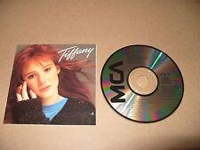 Tiffany By Tiffany cd 10 tracks 1987 Made In Japan Looks Mint