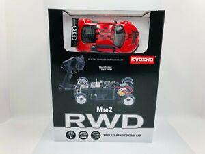 Kyosho MINI-Z Ready Set RWD Audi R8 LMS Driving Experience 2010 32329SR