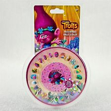 Trolls Girls Press On Color Pictures Nails w/ Poppy Nail File NEW Dreamworks
