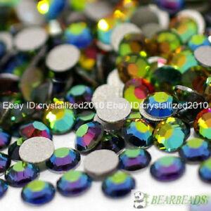 Multi-Color Top Quality Czech Crystal Rhinestones FlatBack Nail Art Decoration