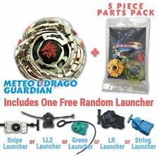 L-Drago Guardian BB-121C Beyblade w/ Free Launcher & Tips / Parts / Card Gift