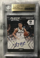 Jeremey Lin Auto 17/18 Panini NBA Player Of The Day /12 SSP