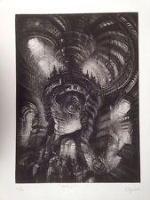 Pierre Clayette Lithographie originale signée Numérotée Alchimie