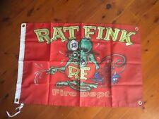 poster bar Man cave flag outlaw biker Sturgess Harley Davidson rat fink biker