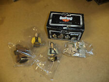 GENUINE RETRO STAR WARS 'BUST-UP' FIGURES X 4! BRAND NEW SEALED IN BOX!