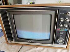 More details for vintage sony trinitron portable colour television. kv-1320ub
