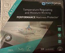 BedGear TWIN XL Ver-Tex 6.1 Moisture Wicking Performance Mattress Protector NEW