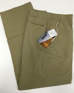 ExOfficio Men's Caravan Wayfarer Pants Trousers Hiking Trekking - Khaki