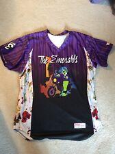 MiLB EUGENE EMERALDS #55 Prince Purple Rain Jersey Size 52