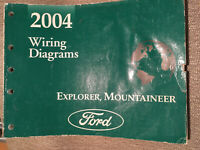 2003 FORD Explorer Mountaineer Wiring Diagrams & Service ...