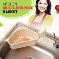 Kitchen Bathroom Sponge Sink Tidy Holder Storage Rack Strainer Organizer Caddy~