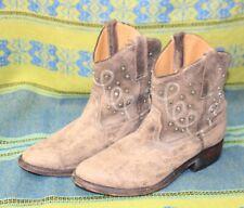 Women's Miz Mooz Short Leather Western Cowboy Boots