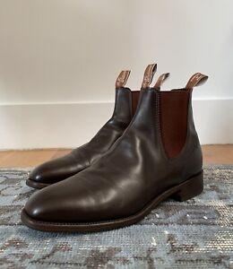 RM Williams craftsman Brown LeatherChelsea boot us 12.5 Australian $450