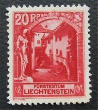 nystamps Liechtenstein Stamp # 97 MOGH XF   O15x646
